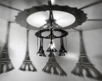 EIFFELTOWER SHADOW LIGHT, shadow light, lighting, eiffel tower, paris decor, eiffel tower decor, eiffel tower light, eiffel tower gift