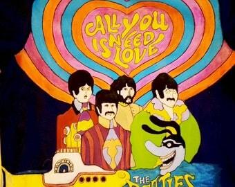 Beatles, Yellow submarine T-shirt