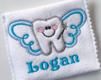 Personalised Tooth Fairy pouch
