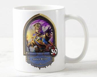 Hearthstone Heroes Mug - Hearthstone Mug - Hearthstone - Hs Mug - Gift for Her - Gift for Him - For Her - For Him - Gaming Mug