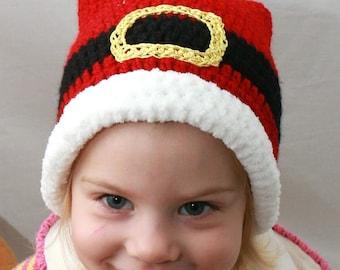 Santa Hat,Crochet Christmas, Santa Claus, Christmas Hat, Baby Santa Hat, Child Santa Hat, Adult Santa Hat, Crochet Santa Hat, Santa Prop
