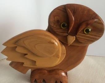 Scultura in legno etsy - Portafortuna casa nuova ...