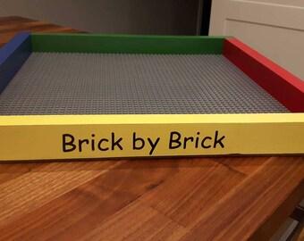 Lego Building Tray