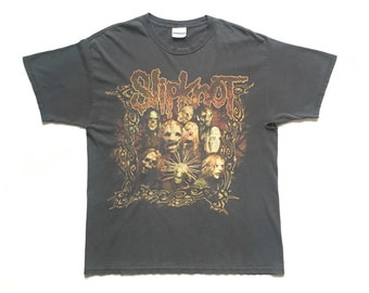 "Slipknot ""The Blister Exists"" vintage band shirt-L-Marilyn Manson, Rammstein, Korn, Machine Head, Fear Factory, Deftones, Metallica, Metal"