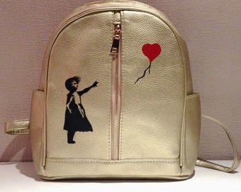 Backpack (girl with a balloon)