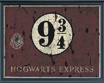 Platform 9 3/4 Sign (Harry Potter)