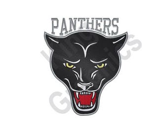Panthers - Machine Embroidery Design, Panther