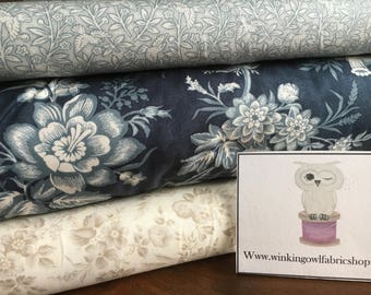 Snowberry fabric from Moda