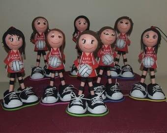 Volleyball Team Fofuchas
