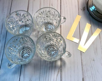 Antique Glass cups!