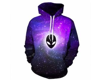 Galaxy Hoodie, Galaxy Sweatshirt, Galaxy, Galaxy Jumper, Galaxy Hoodies, Space, Space Hoodie, 3d Hoodie, 3d Hoodies, Hoodie - Style 14