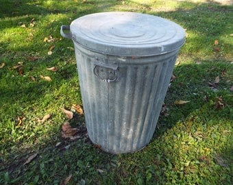 20 Gallon Galvanized Trash Can