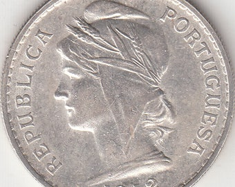 Portugal, 50 cents from 1912 silver coin