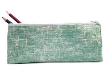 Blue Pencil Case / Zipper Pouch / Zip Pencil Case / Zipper Pencil Pouch / Cool Pencil Case / Cute Pencil Cases / Pen Case/ School Stationery