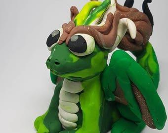 Green Dragon Sculpture