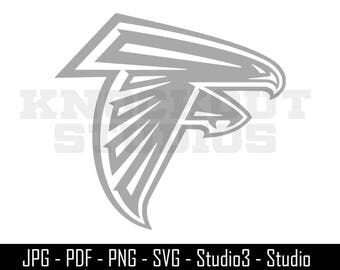 Falcons Decal Etsy - Window decals for business atlanta