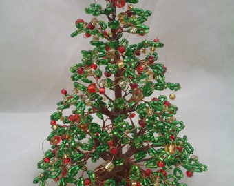 Christmas Christmas decorations Christmastree Holidays Gifts Beadedtree