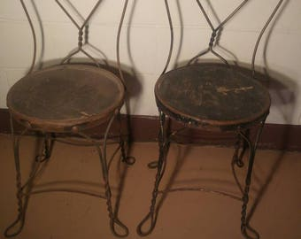 30% OFF Antique Ice Cream Parlor Chairs