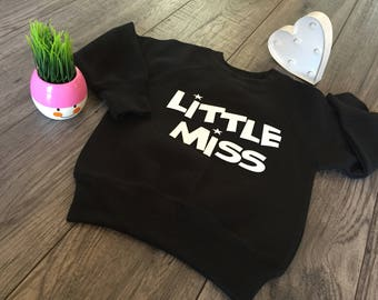 Little Miss Sweatshirt