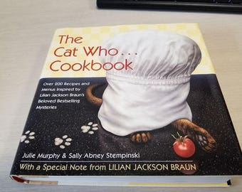 The Cat Who...Cookbook FIRST EDITION