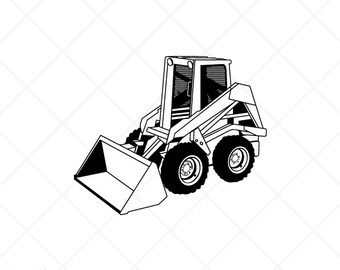 Heavy equipment svg | Etsy