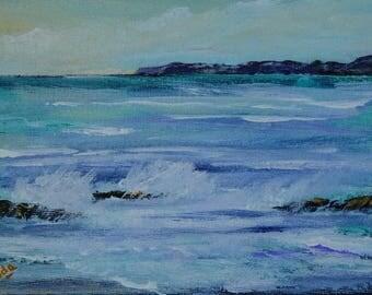 Original acrylic Painting, 5*7 Canvas