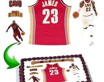 Lebron James Cake Decorations