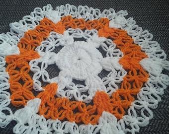 Crochet Doily Kitchen Table Mat, Home Decoration Handmade