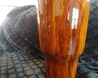 30 oz Wood Grain Tumbler