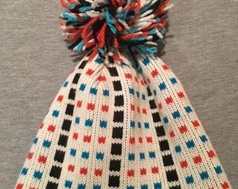 Vintage Knit Winter Hat