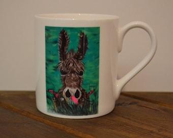 Jenny the Donkey 8oz Bone china mug