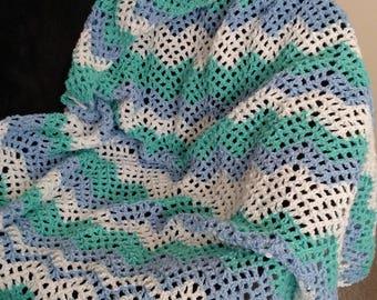 Mesh ripple blanket