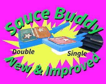 Car Vent Sauce Buddy, New Improved, Dip Clip, Car Dip Holder, Sauce Container, car dip holder, stocking stuffer, szechuan sauce