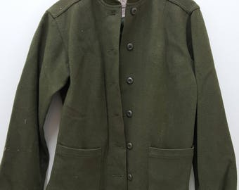 Vintage Military Issued Women's Cold Weather Field Coat Liner