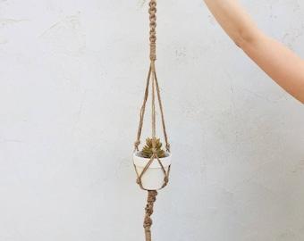 Jute Plant Hanger 38 Inch.
