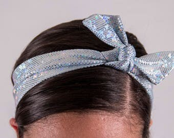 Disco Tie-up Headband