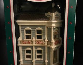 Hallmark Keepsake Ornament - Hall Bro's Card Shop (Nostalgic Houses & Shops) 1988