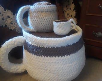 Cafe Grande PDF Download, Crochet Pattern, Coffee, Crochet and Coffee, Coffee Pattern, Amigurumi Pattern, Jumbo Softies, Floor Pillows