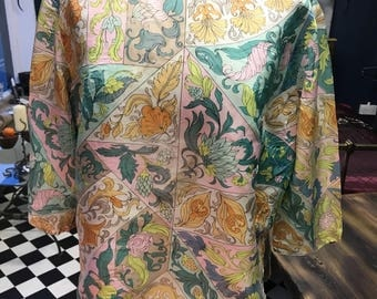 Vintage blouse by Kay Silver made in Canada