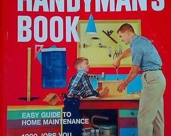 Better Homes and Gardens HANDYMAN'S BOOK 5 Ring Binder 1973 Tools & Maintenance