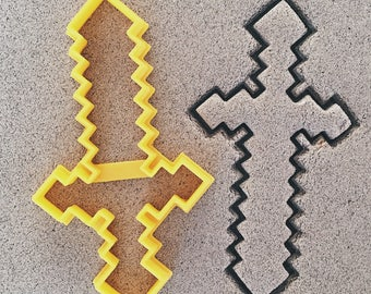 Minecraft Sword Cookie Cutter