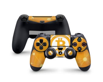 Bitcoin Skin For Sony Playstation 4 Dualshock Wireless Controller PS4