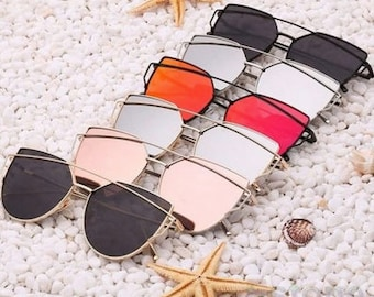 Lilou mirrored sunglasses