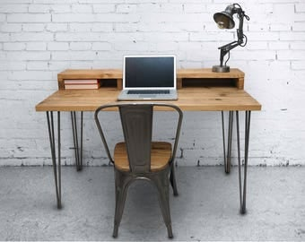 Pin Leg Industrial Desk