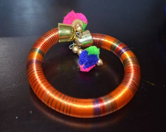 Handmade Colorful Silk Thread Bracelet, Best to own or to Gift