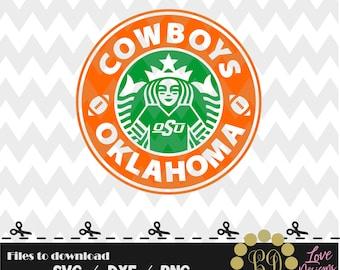 Cowboys Oklahoma Coffee svg,png,dxf,shirt,jersey,football,college,university,decal,proud mom,disney,starbucks,ncaa,design,2018,custom,OSU