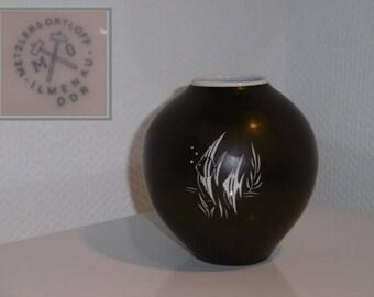 Metzler & Ortloff Vase ceramics 50s model 7508 height 10.8 cm