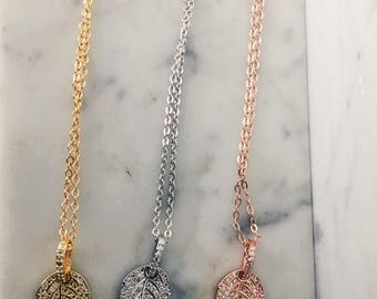 CrystalDust Nature Pendant Necklace