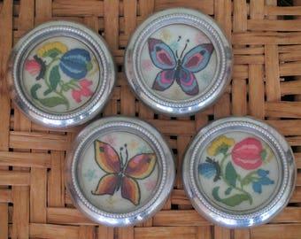 Vintage coasters - set of 4