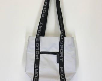Vtg Polo Sport Shoulder Bag